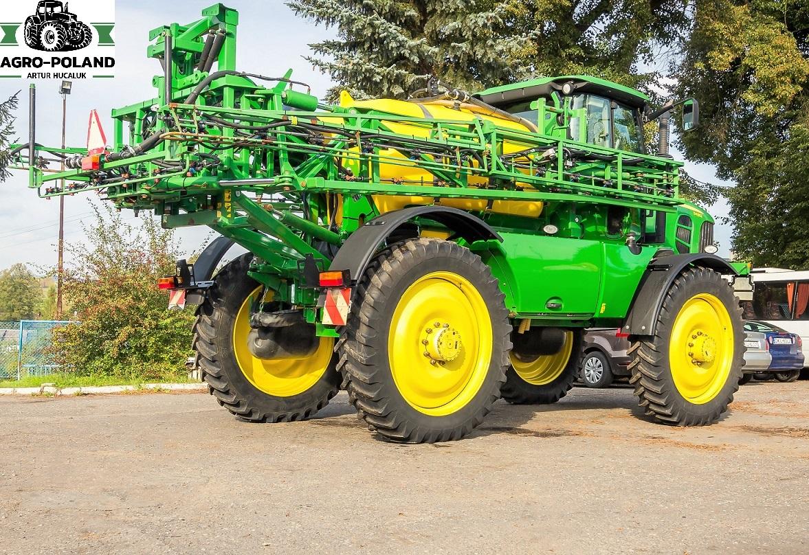 2-Opryskiwacz samojezdny JOHN DEERE 5430i - Agro-Poland Artur Hucaluk - używane maszyny rolnicze